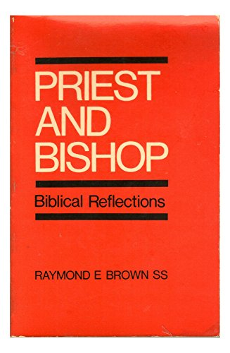 9780225658941: Priest and Bishop: Biblical Reflections