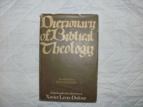 9780225660081: Dictionary of Biblical Theology
