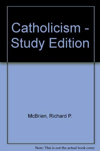 9780225664041: Catholicism Study Edition