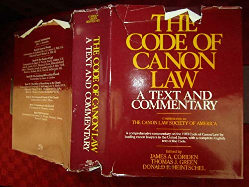 9780225664249: Code of Canon Law : A Text and Commentary