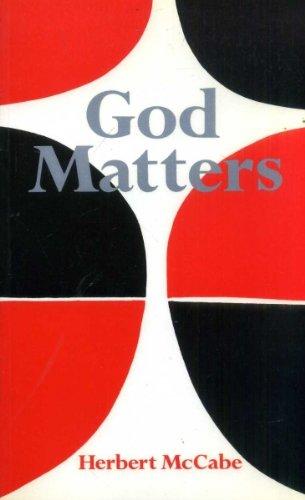 9780225664911: God matters
