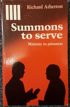 9780225664973: Summons to Serve: The Christian Call to Prison Ministry