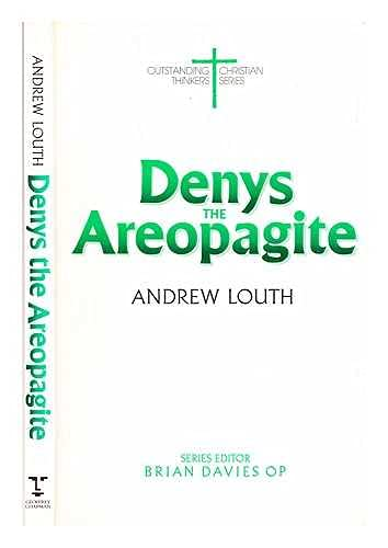 9780225665383: Denys the Areopagite (Outstanding Christian Thinkers Series)