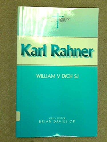 9780225665413: Karl Rahner (Outstanding Christian thinkers)