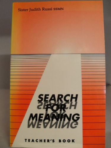 9780225666076: Search for Meaning: Tchrs'