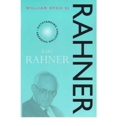 9780225668896: Karl Rahner