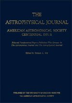9780226001869: American Astronomical Society Centennial Issue of the Astrophysical Journal (Pt. 3)