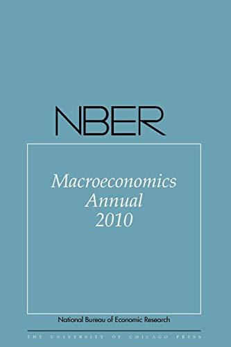 NBER Macroeconomics Annual: Acemoglu, Daron