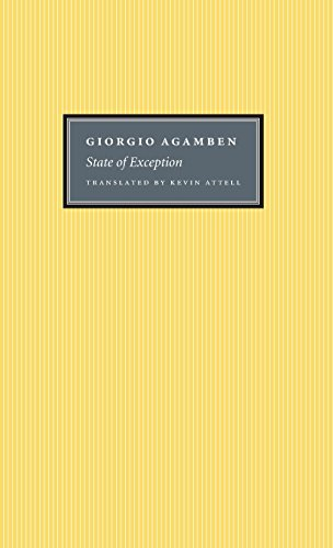 9780226009247: State of Exception