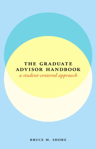 9780226011646: The Graduate Advisor Handbook: A Student-Centered Approach (Chicago Guides to Academic Life)