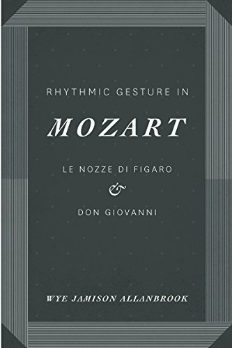 9780226014043: Rhythmic Gesture in Mozart: Le Nozze di Figaro and Don Giovanni