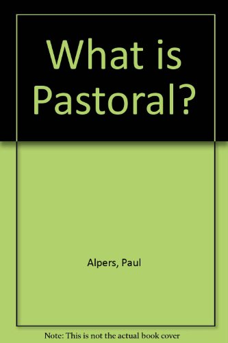 9780226015163: What Is Pastoral?