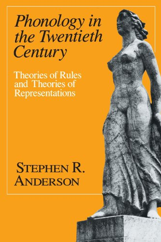 9780226019161: Phonology in the Twentieth Century: Theories of Rules and Theories of Representations