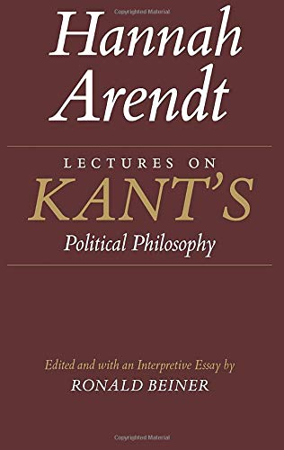 9780226025957: Lectures on Kant's Political Philosophy