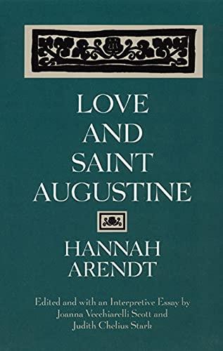 9780226025964: Love and Saint Augustine