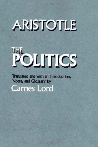 The Politics: Aristotle