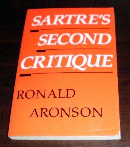 9780226028057: Sartre's Second Critique