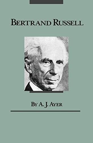 9780226033433: Bertrand Russell