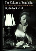 9780226037134: The Culture of Sensibility: Sex and Society in Eighteenth-Century Britain