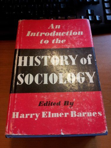 9780226037233: Introduction to the History of Sociology