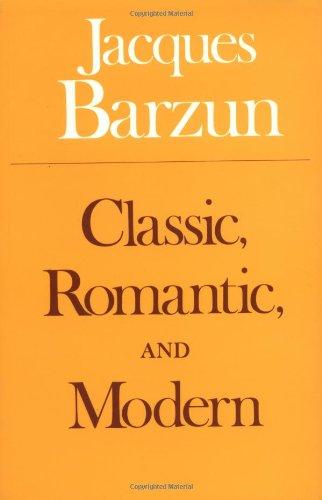 9780226038520: Classic, Romantic, and Modern (Phoenix Books)