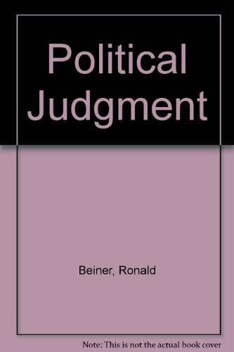 Political Judgment: Beiner, Ronald