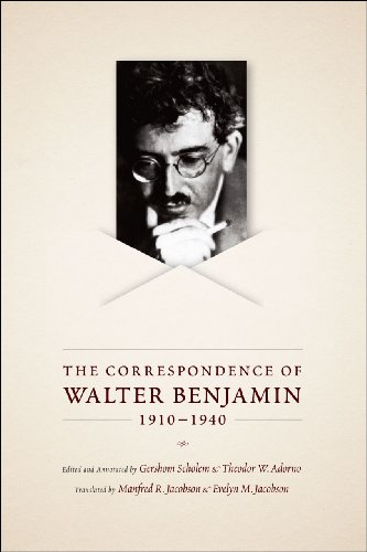 9780226042381: The Correspondence of Walter Benjamin, 1910-1940