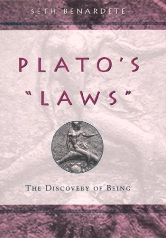 9780226042718: Plato's Laws: The Discovery of Being