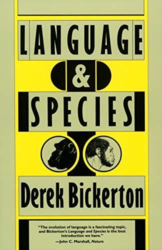 Language and Species (0226046117) by Derek Bickerton