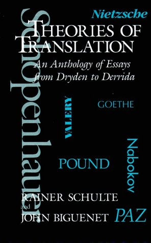 9780226048703: Theories of Translation: An Anthology of Essays from Dryden to Derrida