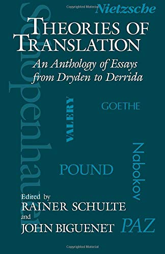 9780226048710: Theories of Translation: An Anthology of Essays from Dryden to Derrida