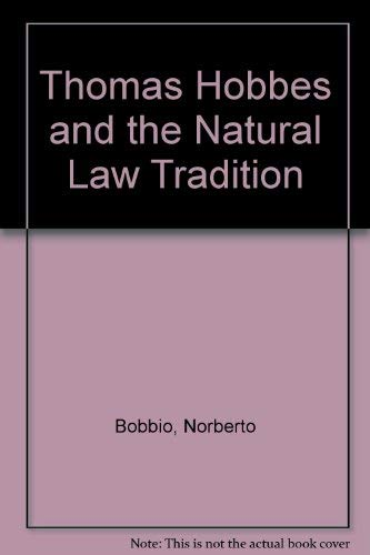 9780226062471: Thomas Hobbes and the Natural Law Tradition
