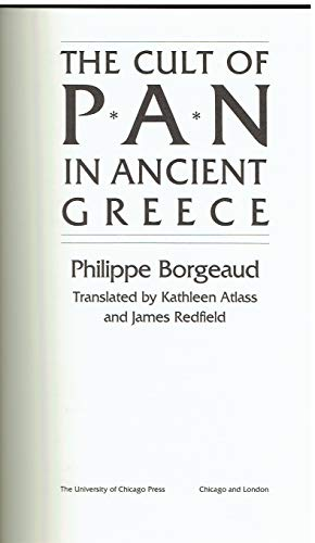 9780226065953: The Cult of Pan in Ancient Greece