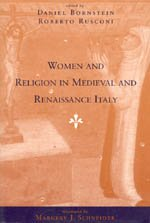 9780226066370: Women and Religion in Medieval and Renaissance Italy (Women in Culture and Society)