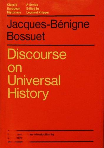 9780226067087: Discourse on Universal History (Classic European Historians)