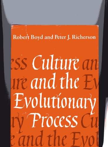 9780226069319: Culture and the Evolutionary Process