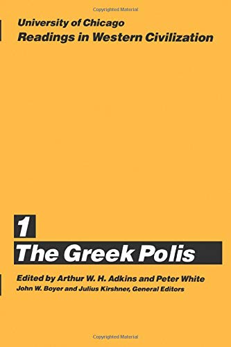 9780226069357: University of Chicago Readings in Western Civilization, Volume 1: The Greek Polis