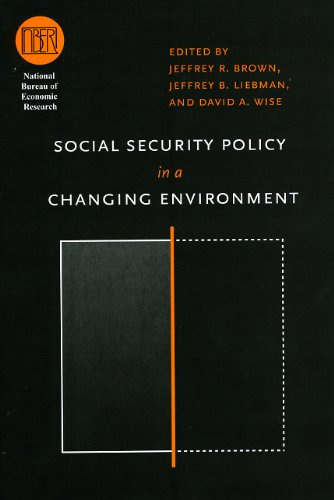9780226076485: Social Security Policy in a Changing Environment (National Bureau of Economic Research Conference Report)