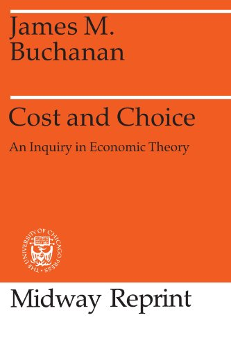 9780226078182: Cost and Choice: An Inquiry in Economic Theory (Midway Reprints Series)