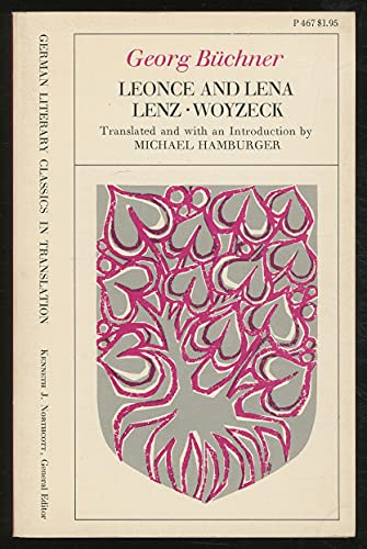 9780226078427: Leonce and Lena/Lenz/Woyzeck (German Literary Classics in Translation)