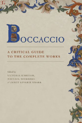 9780226079189: Boccaccio: A Critical Guide to Complete Works