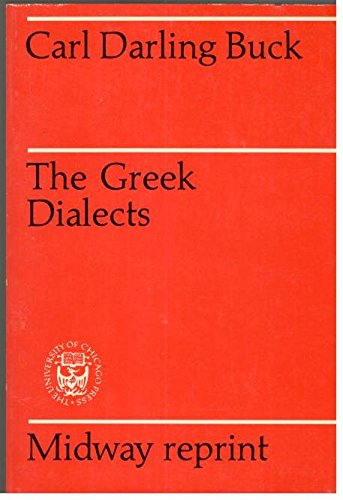 9780226079349: Greek Dialects