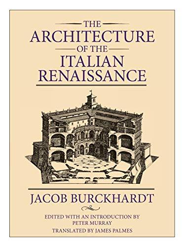 9780226080499: The Architecture of the Italian Renaissance