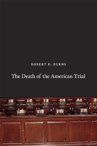 9780226081274: The Death of the American Trial