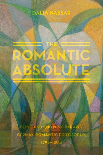 9780226084060: The Romantic Absolute: Being and Knowing in Early German Romantic Philosophy, 1795-1804