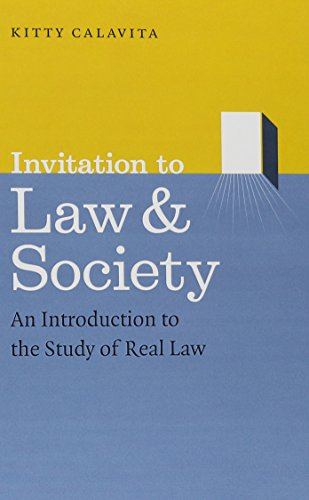 9780226089966: Invitation to Law and Society: An Introduction to the Study of Real Law (Chicago Series in Law and Society)