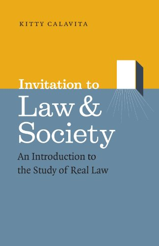 9780226089973: Invitation to Law and Society: An Introduction to the Study of Real Law (Chicago Series in Law and Society)