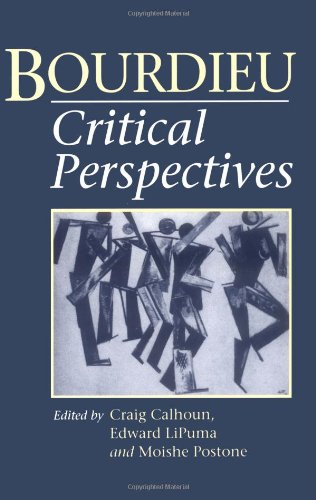 9780226090931: Bourdieu: Critical Perspectives