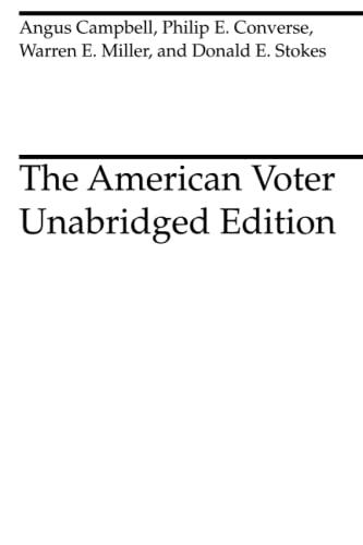 9780226092546: The American Voter: Unabridged Edition