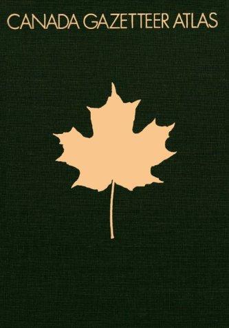 9780226092591: Canada Gazetteer Atlas